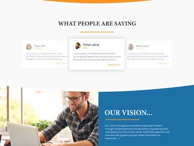 Transformation Academy Website Designing & Development