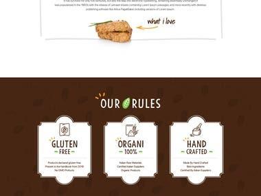 Food Related Website Designing & Development