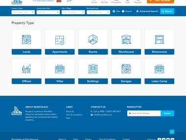 Real state classified website designing & devlopment