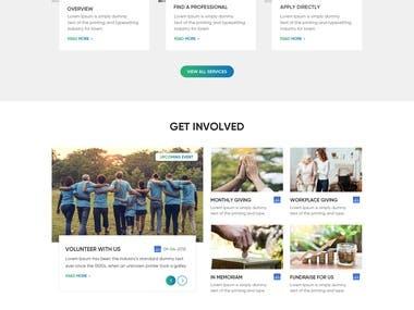 Healthcare websites marketplace web app design & development