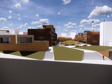 Social Housing Design and Renderings