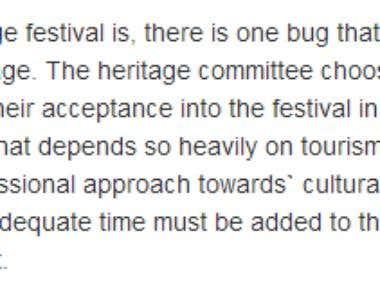 Tobago Heritage Article