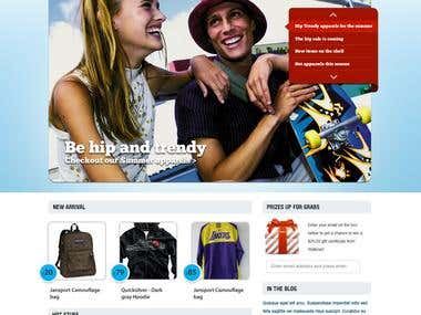 College online store
