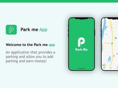 UX UI for parking app