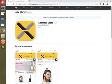 Aparatox Store - IOS App