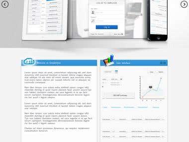 Simple OEE website