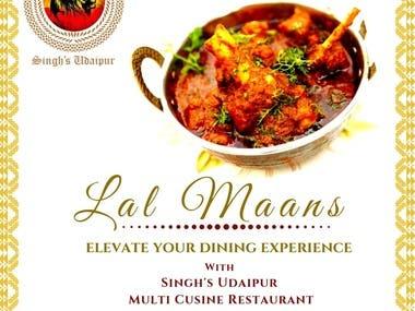 Singh's Udaipur Restaurant Udaipur, Rajasthan