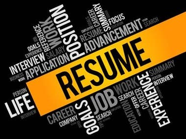 Resume Writing & Design