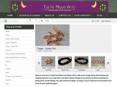 Turtule Moon Arts