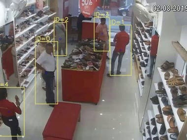 Object Detection,Classification and tracking project