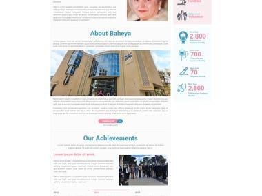Baheya Foundation Website