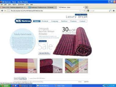 MS Mattress Website