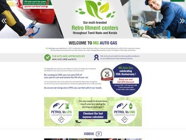 Gas Agency Website