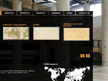 Alfa Stone web site