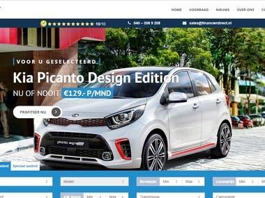 Car Dealer website in Netherlands