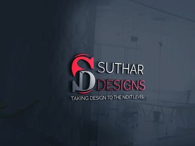 Suthar designs SD logo