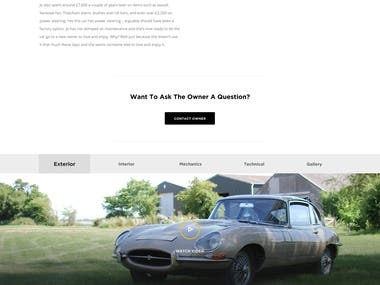 Wordpress eCommerce site