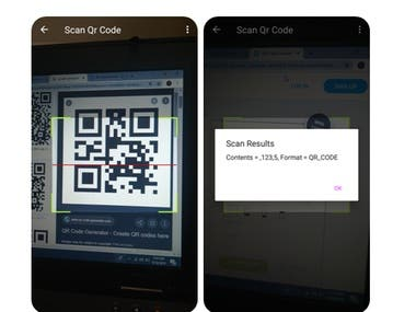 ROS(Restaurant Ordering System Through QR Code)