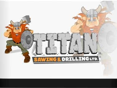 Titan Sawing & Drilling logo