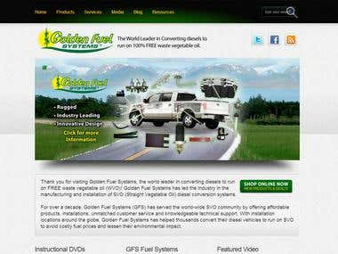 Golden Fuel Systems Website