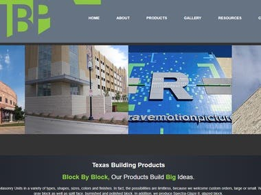 Texas Building Products Website