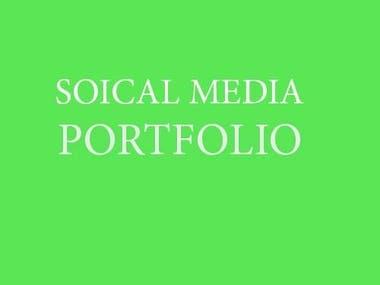 SOCIAL MEDIA PORTFOLIO (Facebook Pages)