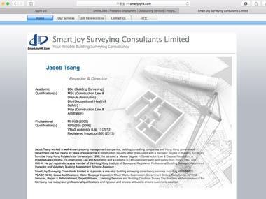 Website Building by RapidWeaver