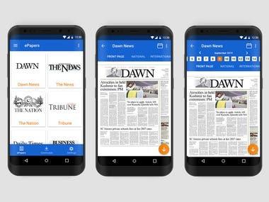 English eNews Paper