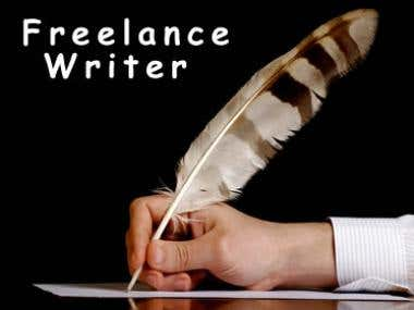An Article about Freelance work
