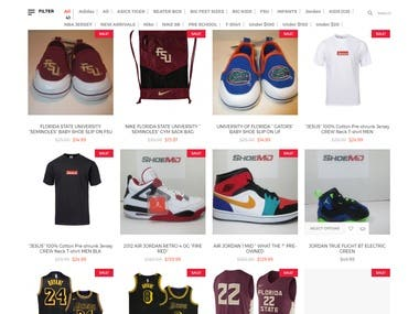 Online Shoes Sell