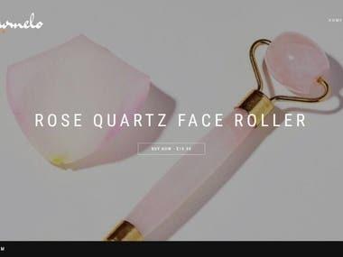 Beauty Face Roller E-commerce