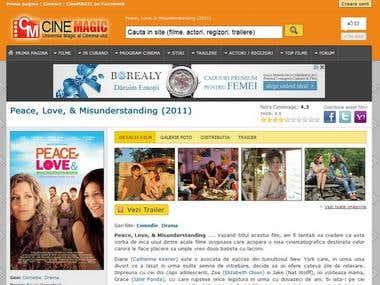 Movies website (like IMDB)