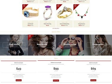 Online Jewelry Selling site.