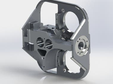 The housing of the rotary device