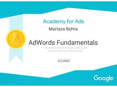 Academy of Ads - Adword Fundamentals