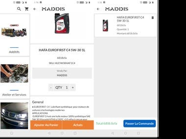 Product catalogue app for salesperson
