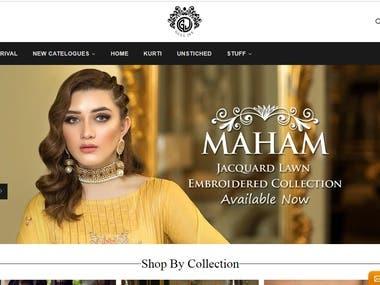 Customized eCommerce Shopify Website