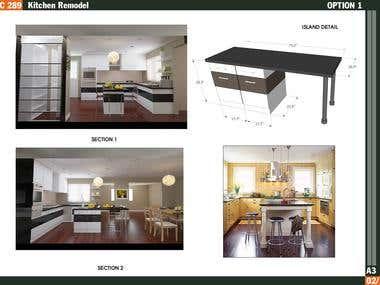 Kitchen / Location: Brookline, Massachusetts, US