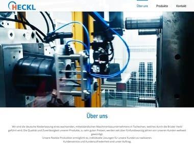 Website und Katalog