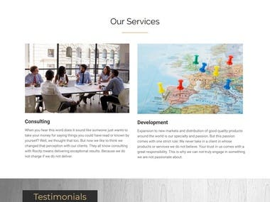Consulting Development
