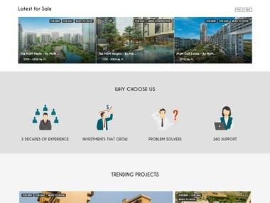 Prime Mansions Website