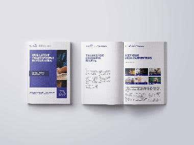 Blue24 user showcase brochure