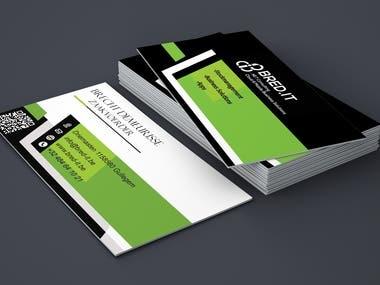 I will do business card design.