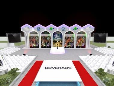 3D conference model