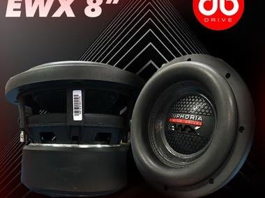 Facebook Poster Design for DB Drive Speaker