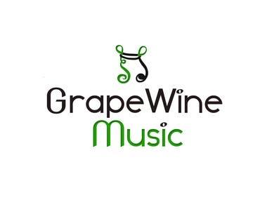 GrapeWine Music Logo