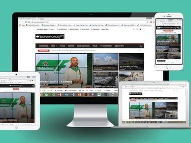 Make a Blog Site.