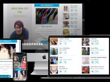 store website woocommerce
