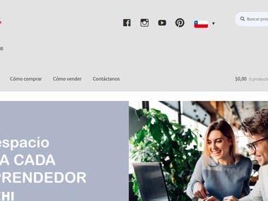 Veychi E-Commerce Website