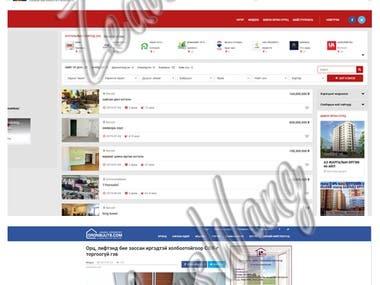 Oronsuuts Real Estate Brokerage Site